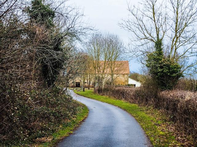de weg naar la Charvière