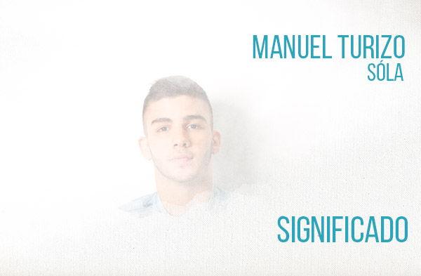 Sola Significado de la canción Manuel Turizo.
