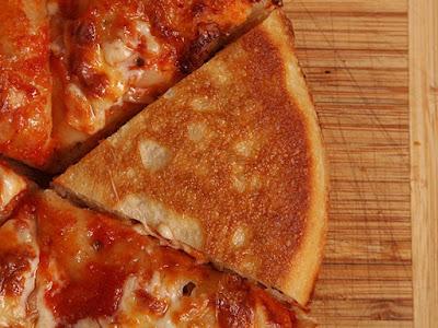 pizza teflon siap saji