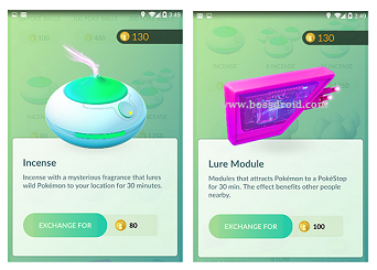 Manfaat Items Incense dan Lure Module pada Pokemon go