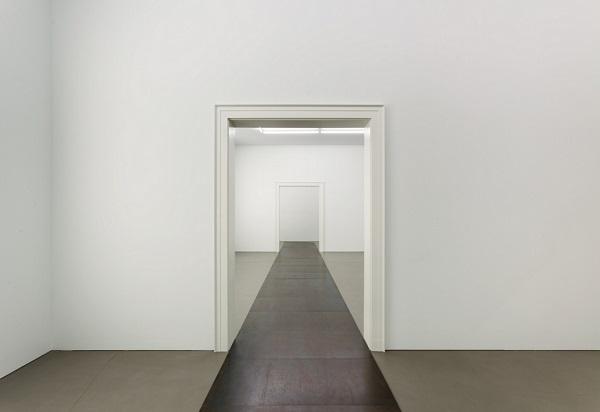 """Carl Andre, """"22 Steel Row"""", 1968 - MMK Frankfurt 2017"""