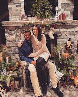 Corey Conners Celebrating Christmas With His Wife Malory Conners