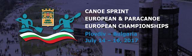 PIRAGÜISMO - Campeonato de Europa en aguas tranquilas 2017 (Plovdiv, Bulgaria)