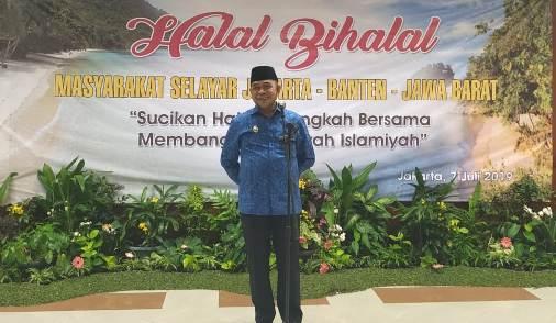 Wakil Bupati Hadiri Halalbihalal, Masyarakat Selayar Di Jakarta