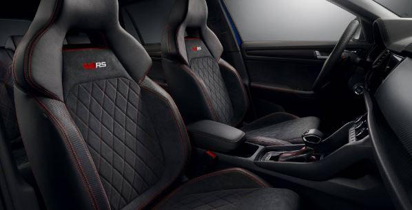 Skoda Kodiaq RS Suv 2020 Seats