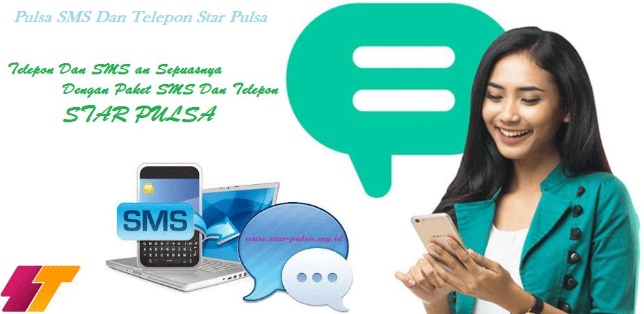 PULSA PAKET SMS DAN TELEPON STAR PULSA