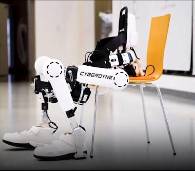 Bộ máy HAL - sự cứu cánh cho những người bị bại liệt.