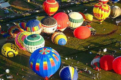 show de balões Torres