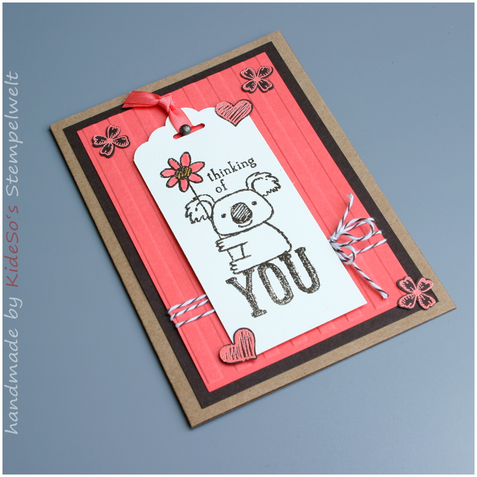 Stampin' Up Bocholt, Karte, Kind Koala