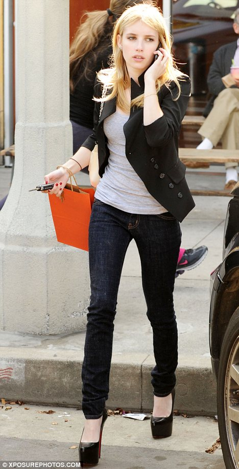 Top Shoes Great Christian Louboutin Shoes Emma Roberts