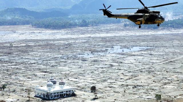 Tak Banyak Yang Tahu, Ternyata Saudi Menjadi Negara Penyumbang Terbesar Ketika Aceh Dilanda Tsunami
