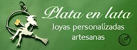 Plataenlata. Joyas personalizadas artesanas en plata de ley, por Miriam Penyas