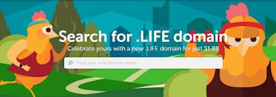 Promo Domain Murah .Life Cuma $1.88 di Namecheap