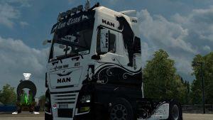 Man E6 Black & White Skin
