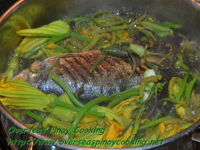 Dinengdeng with Inihaw na Bangus - Cooking Procedure