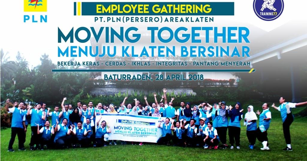 Employee Gathering PT PLN Persero Area Klaten Moving