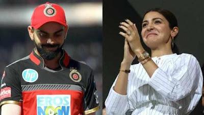 IPL 2020 Anushka Sharma cheers as Virat Kohli Team RCB win against MI