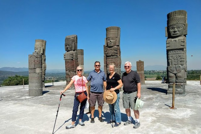 La ciudad fue fundada por Ce Ácatl Topiltzin Quetzalcóatl, soberano que dio gran prosperidad a la región, misma que se vio truncada debido al enfrentamiento entre seguidores del dios Quetzalcoátl y Tezcatlipoca, dioses tremendamente enfrentados en la mitología azteca.