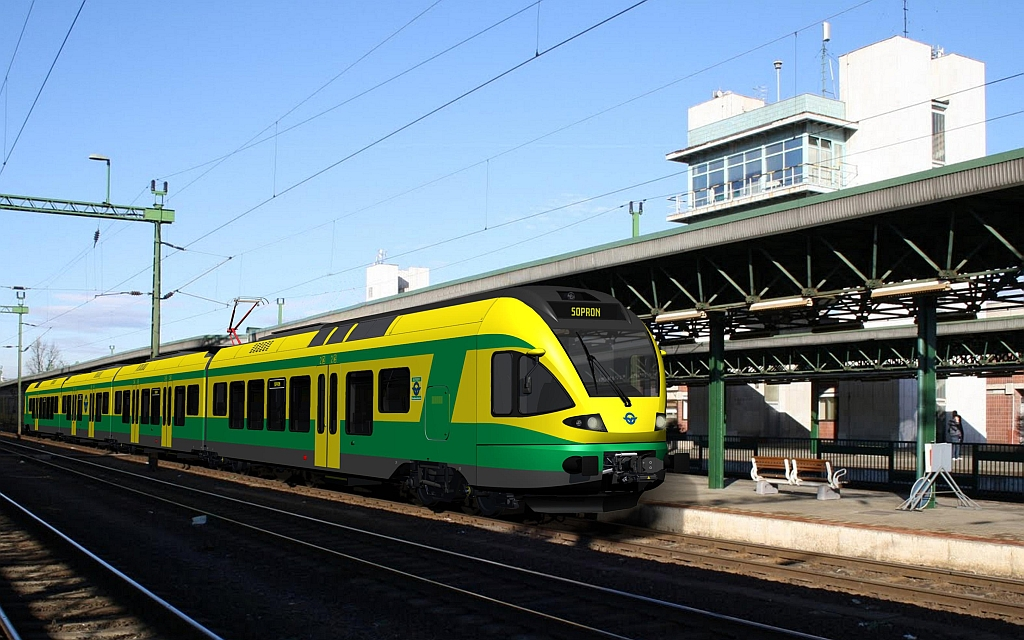 a vonaton flört)