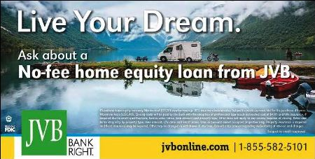 No-Fee Equity Loan from JVB