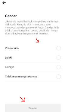 pilih gender