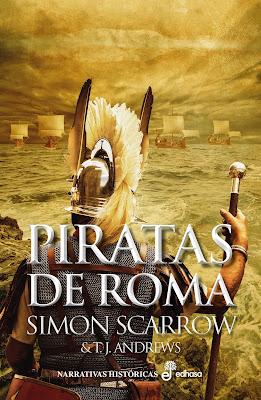 Piratas de Roma - Simon Scarrow & T. J. Andrews (2020)