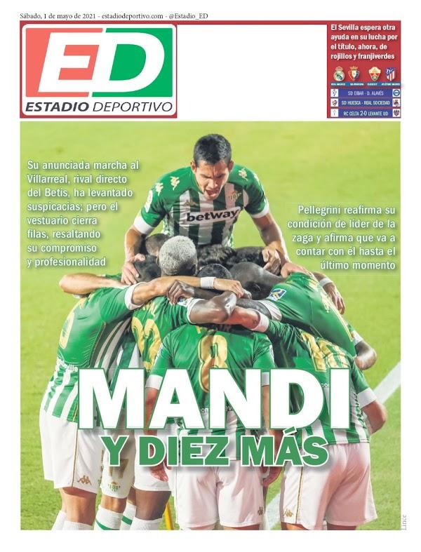 """Betis, Estadio Deportivo: """"Mandi y diez más"""""""