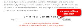cara cek situs yang di banned adsense - blog