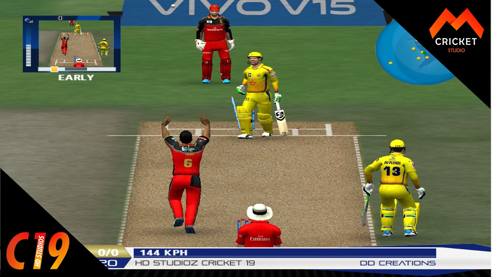 Hd Studioz Cricket 19 Patch For Ea Cricket 07 Direct