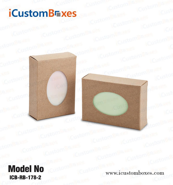 Customized Soap Packaging Boxes
