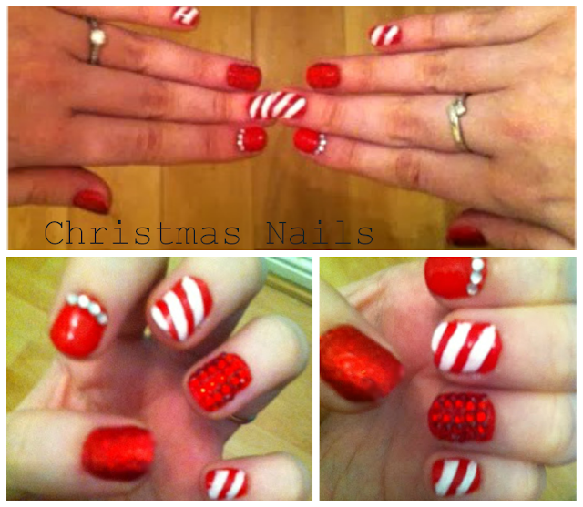 Christmas Nail art - Christmas - nail design - nail varnish