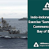 Indo-Indonesian Navy  Exercise 'Samudra Shakti commences in the Bay of Bengal