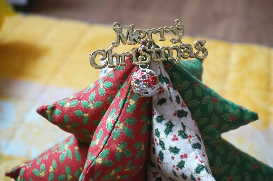 Crafts for the New Year and Christmas. Christmas Tree. Soft Toy.  DIY step-by-step tutorial.