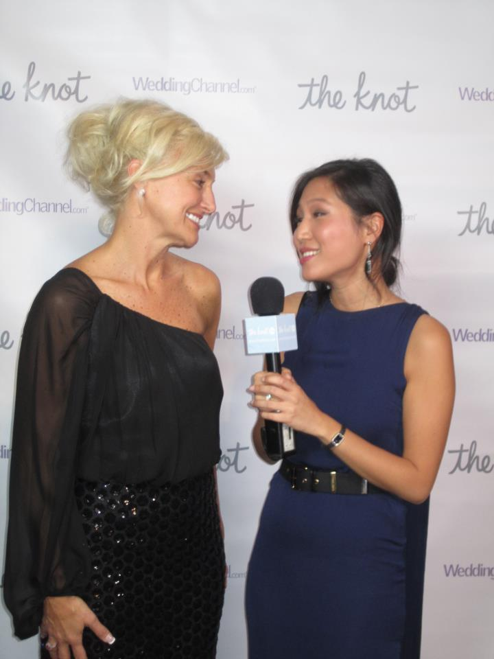 Victoria Designer Of Nicole Wedding Dresses Speaks With The Knot Corespondent During New York Bridal Week