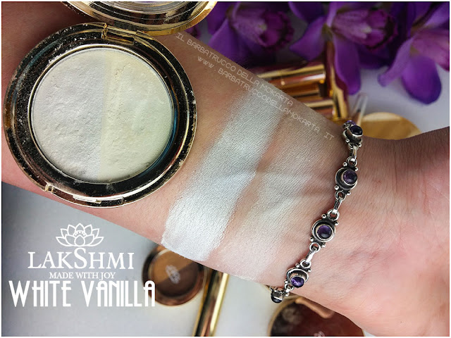 white vanille 51 eyeshadow ombretti inci lakshmi makeup vegan ecobio