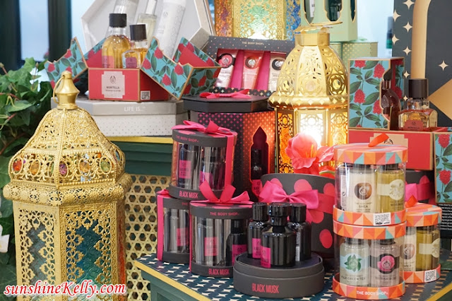 The Body Shop 2018 Ramadan & Raya Gifts, The Body Shop Malaysia, 2018 Ramadan & Raya Gift Ideas, Black Musk Night Bloom, Japanese Cherry Blossom Strawberry Kiss