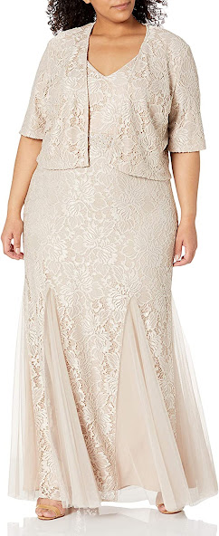 Plus Size Mother of The Bride Dresses With Jackets