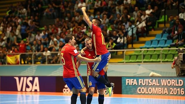 Espanha passa sem sustos, Azerbaijão fica em segundo e Irã se classifica