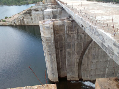 Palemvagu Dam in Bhadradri Kothagudem District
