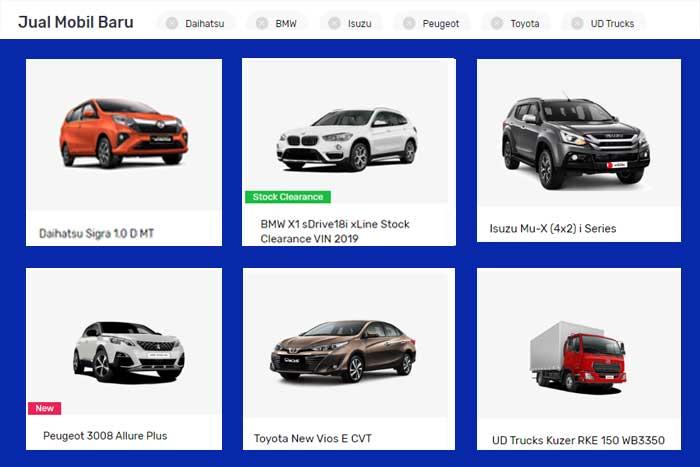 Beli Mobil Baru di Seva Pusat Mobil