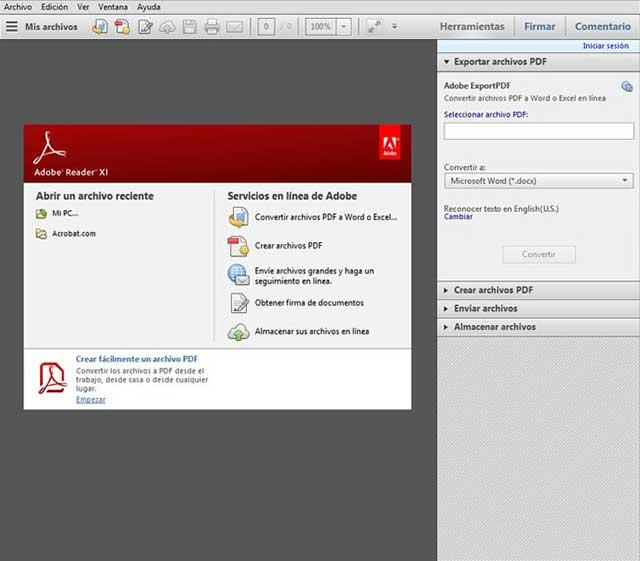 Adobe Reader se cierra automáticamente