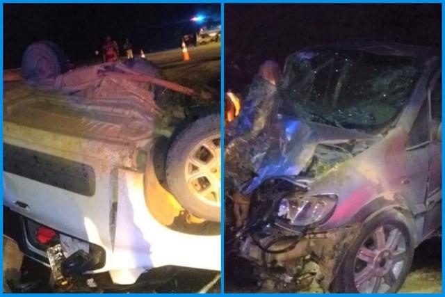Duas pessoas ficam feridas em acidente entre Vitória da Conquista e Anagé