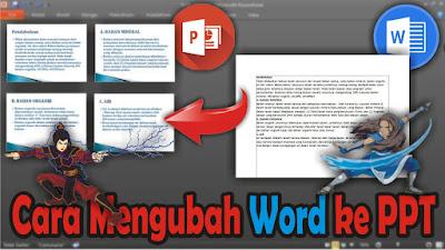Cara Mengubah File Word Menjadi File PPT