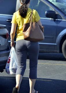 Señora pantalones yoga marcado calzon