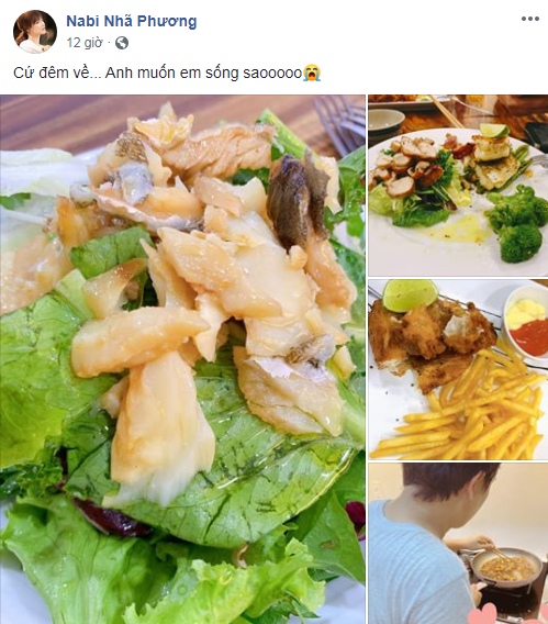 Được Trường Giang nấu ăn tẩm bổ mỗi tối nhưng Nhã Phương liên tục 'kêu trời'