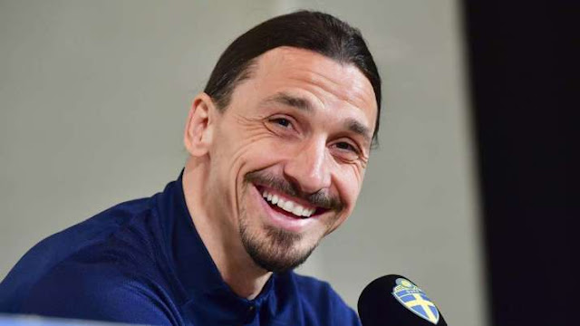 Zlatan Ibrahimovic in tears as he returns to Sweden's national team