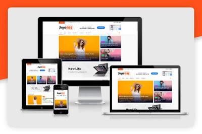 JagoMag [ Free Download ] - Best Magazine Blogger Template