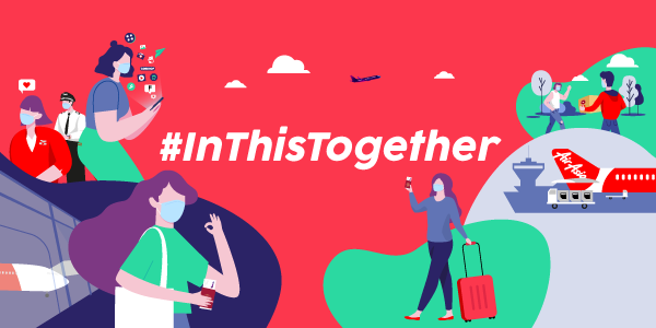 Wajib Bawa Topeng Muka Sendiri Merupakan Antara Policy Terbaru Daripada AirAsia