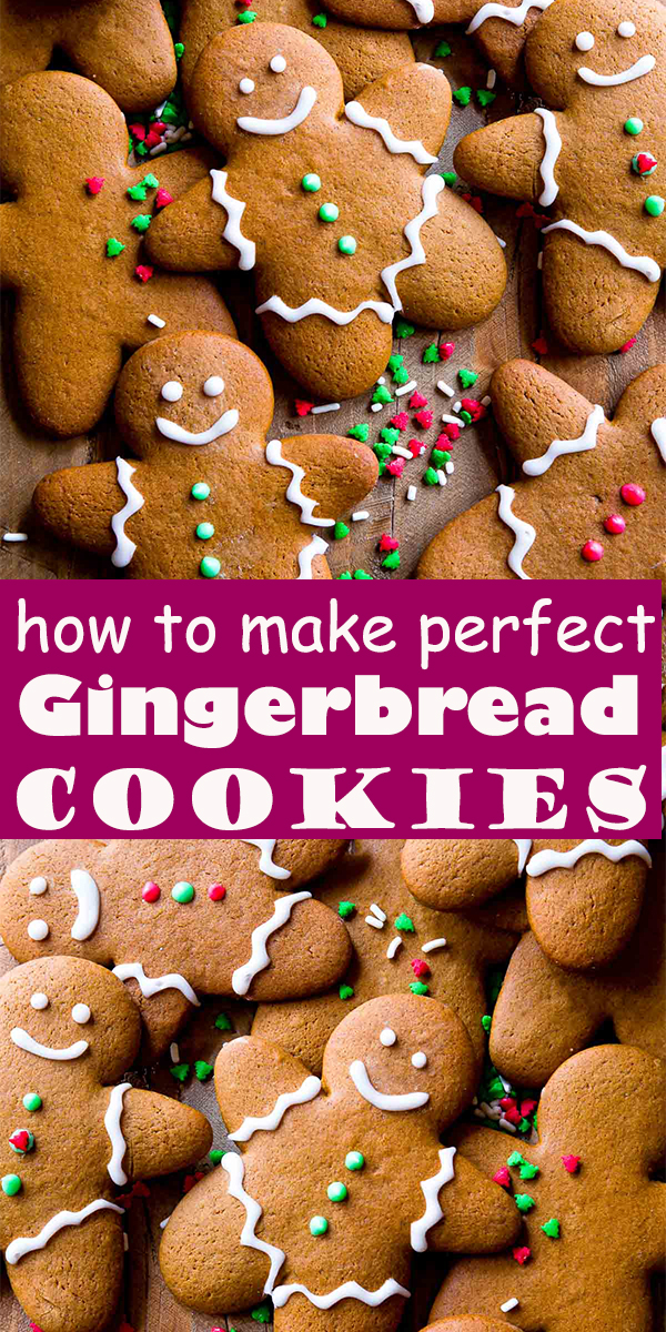 Gingerbread Cookie Recipe #Gingerbread #Cookies #Recipe #dessert  #sweet