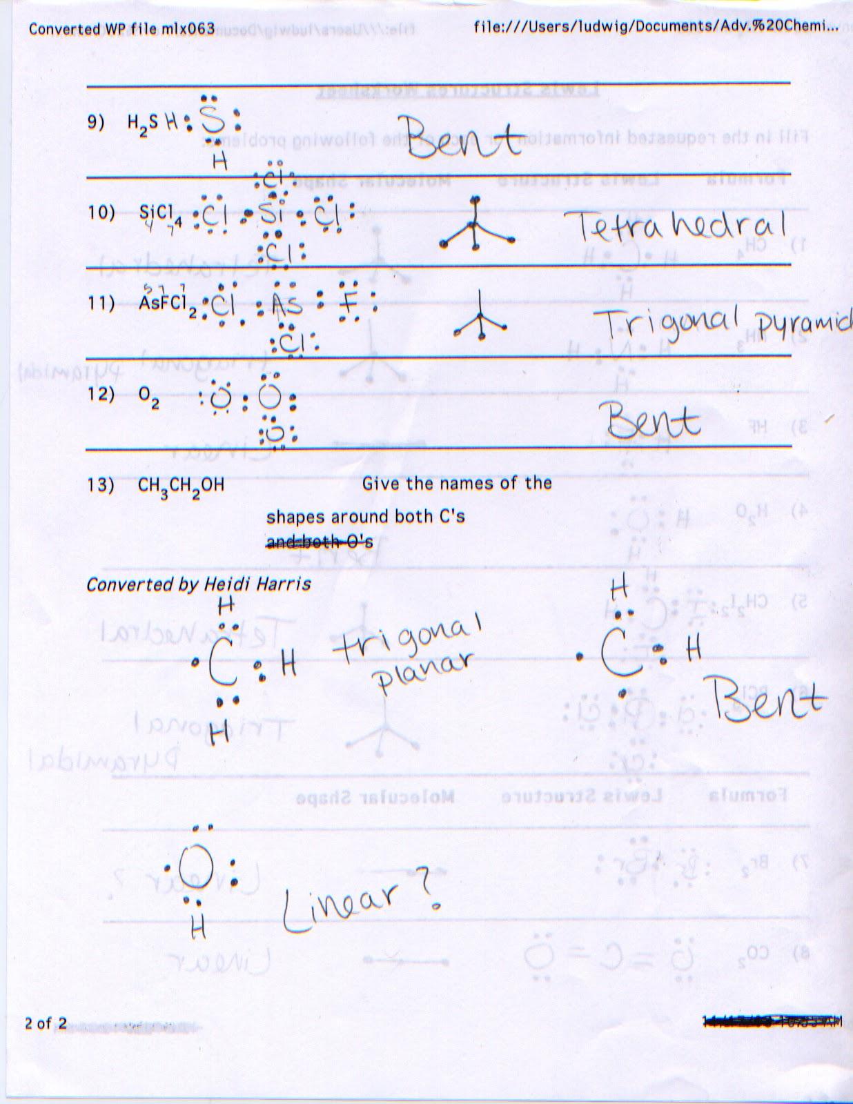 Kassidy S Penny S Chemistry Blog December